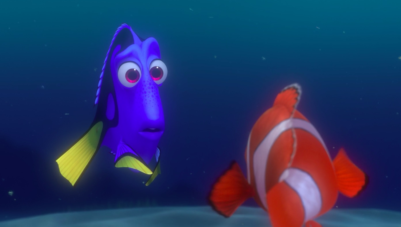 finding nemo techniques Audiences are seeing her short-term memory loss in a different light.