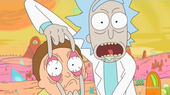 netflix aanbod week 44 2016 rick and morty comedy eyes